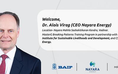MasterG and Nayara Energy: A partnership of success and social sustainability